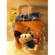 Super Rare 1991 Book And Doll Gift Set Applause Peanuts Snoopy Comes With Bag And Book Toy Stuffed Animal Plush Doll