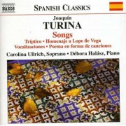 J. Turina - Songs- Triptico a Lope De (0747313070770) (1 CD)