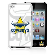 NRL Licensed North Queensland Cowboys Watermark Back Case for iPod Touch 4