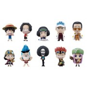 Bandai Tamashii Nations One Piece Deform Master Petite Toy Figures, Set of 10, Volume#3 (japan import)