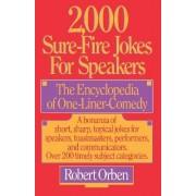 2000 Sure-Fire Jokes for Speakers by Robert Orben