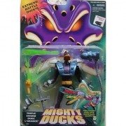 Mighty Ducks ~ Triple Sword Duke L'Orange Fire Plasma Puck with Super Duck Dazer!
