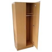 Két ajtós ruhásszekrény 180 x 76 x 45 cm Bükk 975181