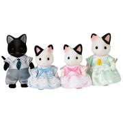 Figure - Sylvanian Families - Tuxedo Cat Family - EP5181 - Epoch