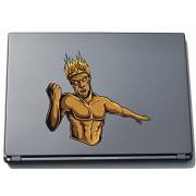 Per computer portatile da Titan greca 005 - TITANI greca - 150 x 163 mm adesivo