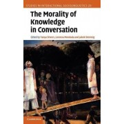 The Morality of Knowledge in Conversation by Tanya Stivers