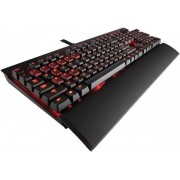 Tastatura Gaming Mecanica Corsair K70, Red LED, Cherry MX Brown, Layout US