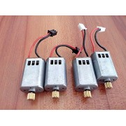 Generic 4Pcs JJRC H25 H25G H25C Original CW / CCW Brushed Motor RC Quadcopter Spare Part Motors