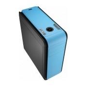 Gabinete Aerocool DS200, ATX/micro-ATX/mini-iTX, USB 2.0/3.0, sin Fuente, Azul