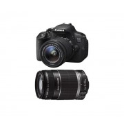 EOS 700D + 18-55 IS STM + 55-250 IS STM