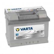 Batería Varta 12 voltios 61ah 600A Silver Dynamic ref. D21 242 x 175 x 175 mm