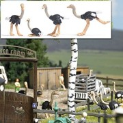 Busch 1194 4 Ostriches HO Scale Kit