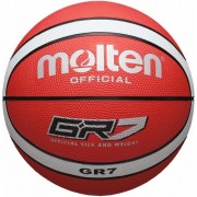 molten Basketball BGR7-RW (Indoor/Outdoor) - rot/weiß | 7