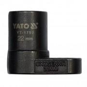 YATO Nástrčný klíč na lambda sondu 22 mm