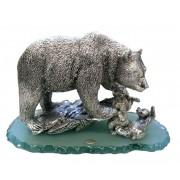 Статуэтка Медведь с медвежатами
