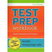 Standardized Math and Language Arts Test Preparation ~ Aligned with Common Core Standards (First Grade)