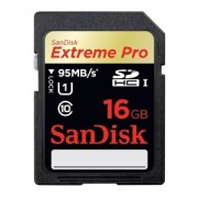 Card memorie SDHC SanDisk Extreme Pro 16GB UHS-I U1 Class 10 95MB/s