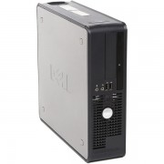 Calculator DELL GX755, SFF, Intel Core 2 Duo E6550, 2.33 GHz, 2 GB DDR2, 80GB SATA, DVD-ROM