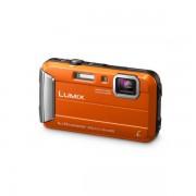 Aparat foto Panasonic Lumix DMC-FT30 16 Mpx zoom optic 4x subacvatic Portocaliu