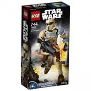 Сглобяема фигура ЛЕГО Стар Уорс - Scarif Stormtrooper, LEGO Constraction Star Wars, 75523