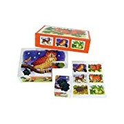 ABA Animals in Forest Blocks with Pictures (6-Piece)
