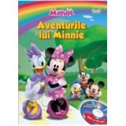 Disney - Aventurile lui Minnie Carte+CD Format mare Lectura Stefan Aruxandei
