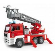 Feuerwehr MAN Drehleiter u. Wasserpumpe u. L&S Module inkl. Batterie 02771
