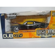 2005 Jada Toys Dub City Big Time Muscle - 1967 Shelby GT-500KR Black and Red