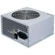 Chieftec GPA-500S8 unidad de - Fuente de alimentación (Activo, Over current, Sobrevoltaje, Sobrecarga, Cortocircuito, Bajo voltaje, 20+4 pin ATX, ATX, PC, Gris)