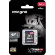 Card de Memorie Integral UltimaPro SDXC 64GB Class10 45MBps