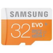 Samsung EVO microSDHC 32GB (class 10) + adaptor
