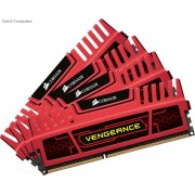 Corsair CMZ32GX3M4X1866C10R 32GB Vengeance with Red heatsink Desktop Memory, 8Gb x 4 kit