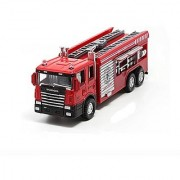 Aimeio 1Pcs 16cm Fire Fighting Truck Toy for Kids Clean Car Sanitation Trucks Alloy Car Model Christmas Gift for Child&#