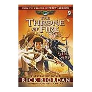 Kane Chronicles: the Throne of Fire: The Graphic Novel The