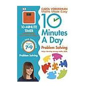 10 Minutes a Day Problem Solving: Ages 7-9 - English Version