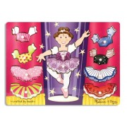 Melissa and Doug Puzzle in legno mix 'n Match Ballerina