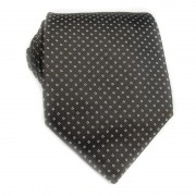 Cravatta seta a pois GUERRIERI