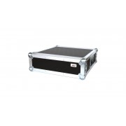 "AWEO 3 HE Rack 19"" Double Door 39 CM Flightcase 7 mm MPX"