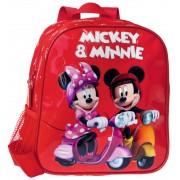 Ghiozdan 25 cm Mickey si Minnie