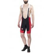 Castelli Evoluzione 2 Bibshort Men black/red 2017 L Lycra Shorts