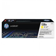 HP 128A Yellow Cartridge For CP1525