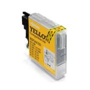 Brother LC1000 / LC970 sárga utángyártott tintapatron