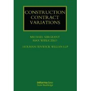 Construction Contract Variations by Michael Sergeant