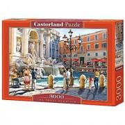 Castorland The Trevi Fountain Jigsaw Puzzle (3000-Piece Multi-Colour)