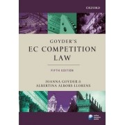 Goyder's EC Competition Law by Joanna Goyder