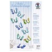 Set 3D motýli - Spring 24ks/861530