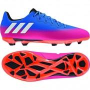 adidas Kinder-Fußballschuh MESSI 16.3 FG J - blue/ftwr white/solar or