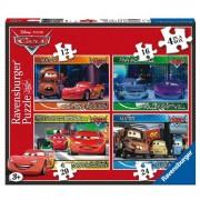 Ravensburger - 2407259 - Disney - Cars - 4 casse-tête