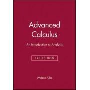 Advanced Calculus by Watson Fulks