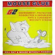 Set Of 3 MOUSE GLUE PAD KILL RAT MOUSE NO POISONS ENVIRONMENT FRIENDLY